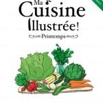 """Couverture du livre """"Ma cuisine illustrée, printemps"""" aux éditions CFSL"""