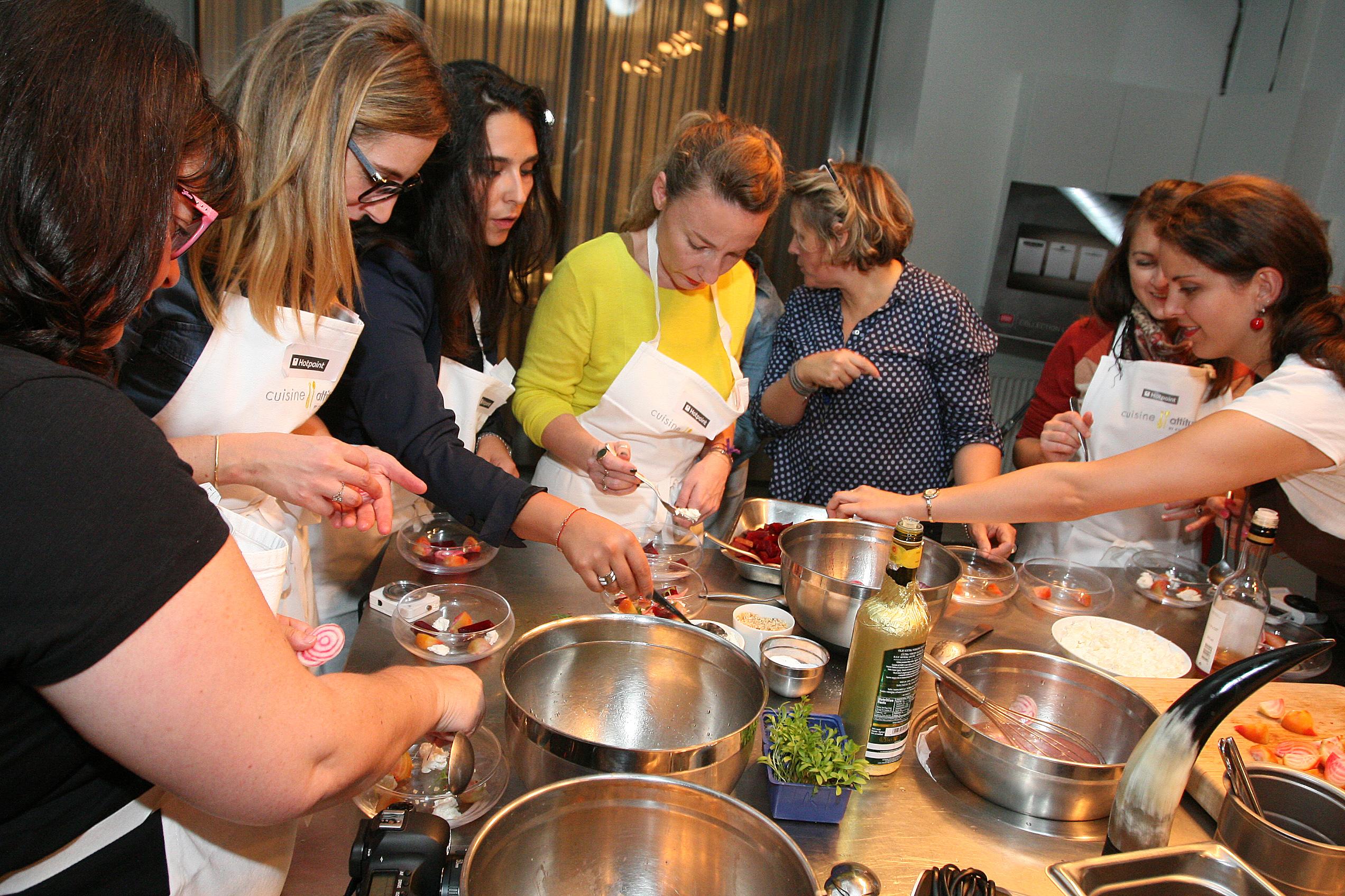 Une recette de cyril lignac partenaire des cuisines for Atelier cuisine cyril lignac