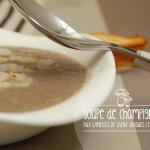 Soupe aux champignons et lamelles de Saint-Jacques citronnées - Crookies