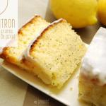 Le cake au citron et graines de pavot, comme au Starbuck ! © Crookies