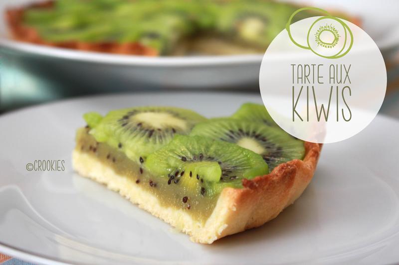 Tarte aux kiwis crookies for Recette mojito grande quantite