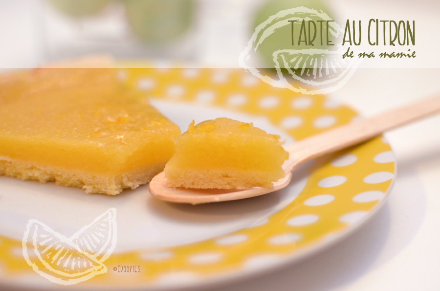 Tarte au citron - © Crookies