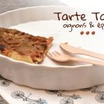 Tarte tatin aux oignons et épices - © Crookies
