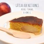 Gâteau aux nectarines façon Crookies