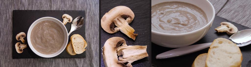Velouté aux champignons de Paris - © Crookies