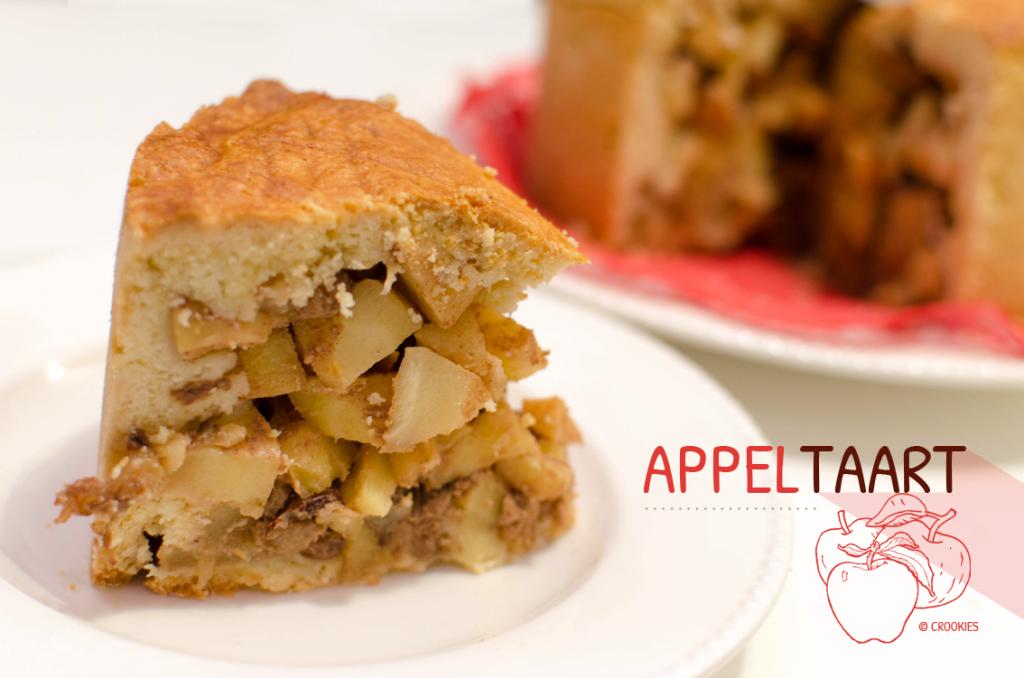 Appeltaart, la tourte aux pommes comme à Amsterdam - © Crookies