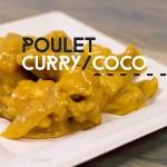 Poulet au curry et coco façon Crookies