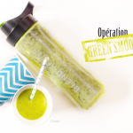 Green smoothie banane/laitue/menthe - photo © Crookies