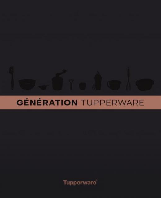 """Livre """"Génération Tupperware"""" d'où est extraite la recette de la pâte à choux"""