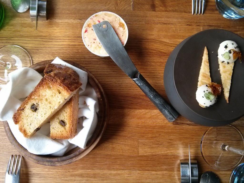 Mises en bouches (compris dans le menu) - A Noste