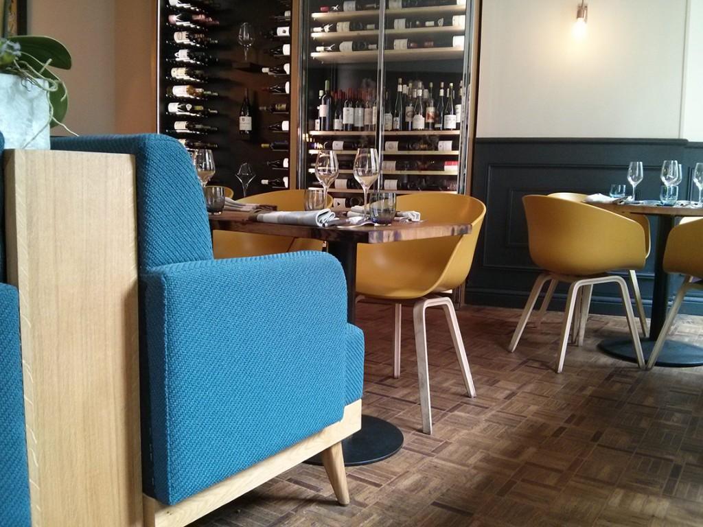 Salle du restaurant A Noste - Paris