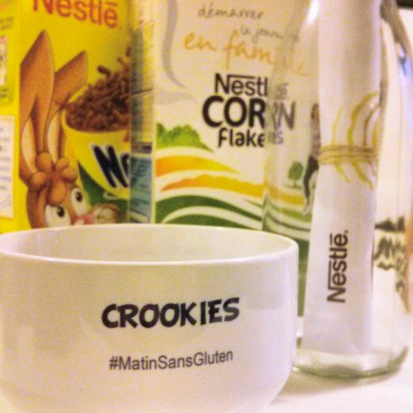 Céréales Nestlé sans Gluten