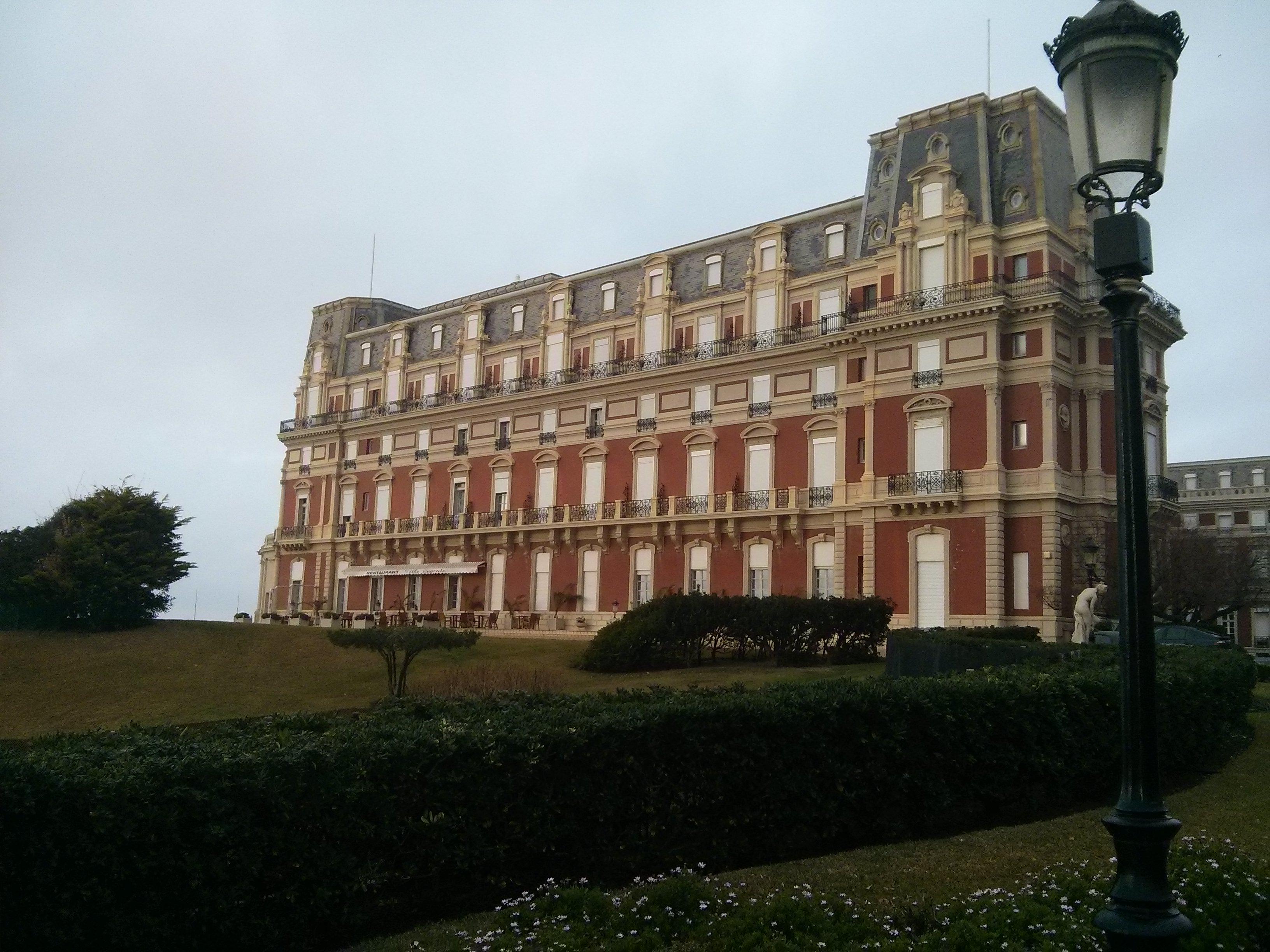 J ai test le chocolat chaud l h tel du palais - Prix chambre hotel du palais biarritz ...