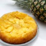 Gâteau renversé ananas et noix de coco - © Crookies