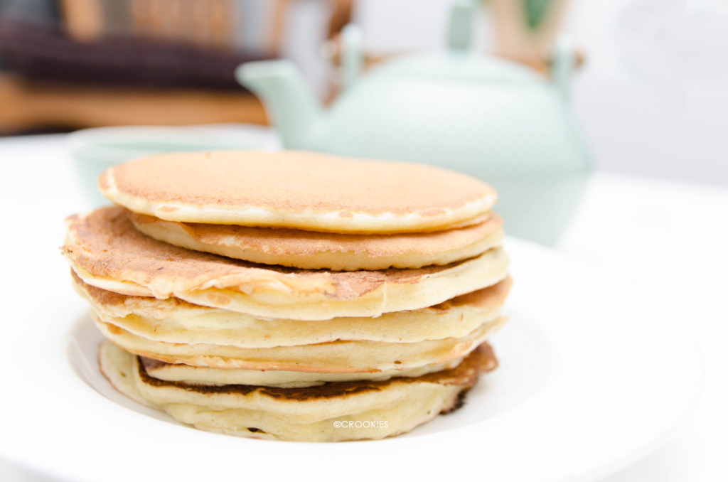 Authentiques pancakes américains - Photo © Crookies