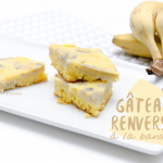 gâteau renversé à la banane - Photo © Crookies