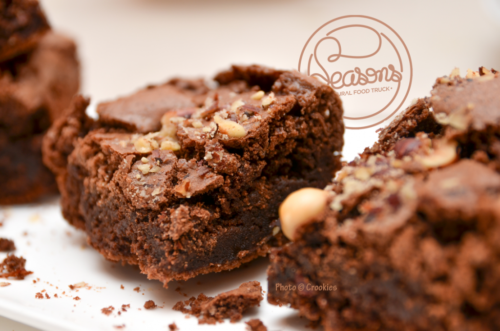 Brownies du Seasons Food Truck de Bordeaux - Photo © Crookies