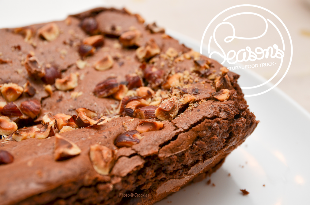 Le Brownies du Seansons Food Truck à Bordeaux - Photo © Crookies
