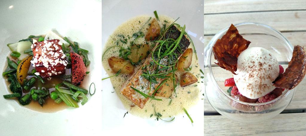 photo du menu du déjeuner de Bo-Tannique