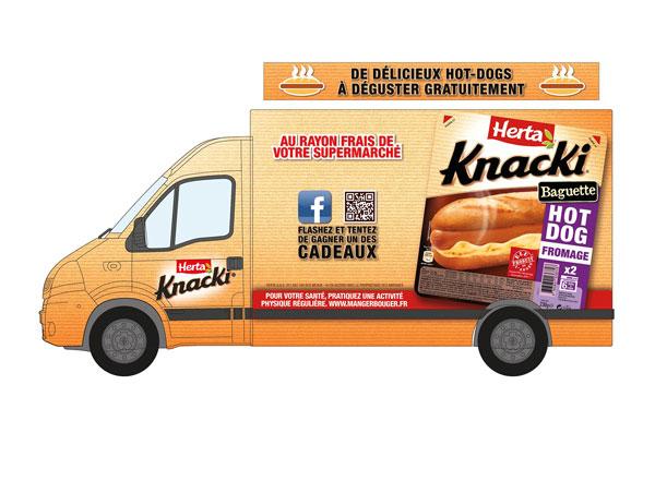 La Knacki food truck de Herta