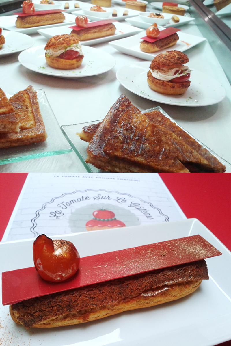 """Délices sucrés et salés de la pâtisserie """"La tomate sur le gâteau"""""""