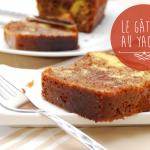 Gâteau au yaourt façon marbré vanille/chocolat - par Crookies