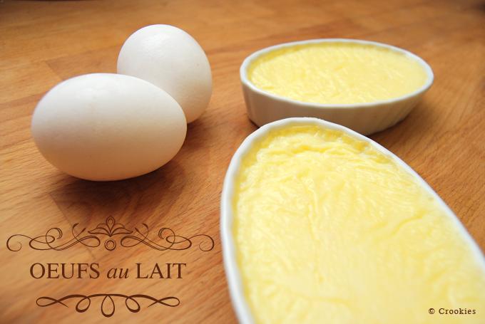 Les œufs au lait de ma grand mère - © Crookies