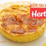 Quiche aux knackis Herta par Crookies