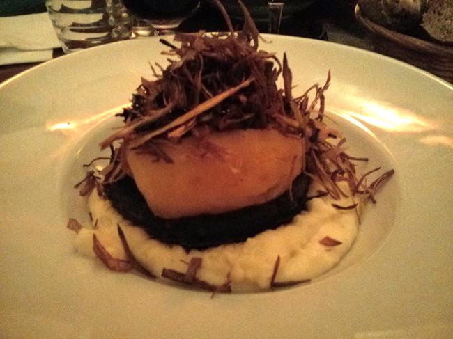 Boudin noir aux deux pommes et sa purée