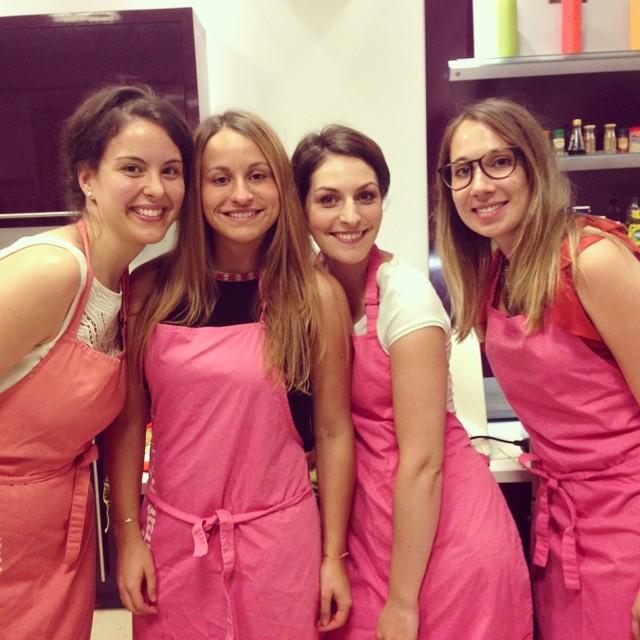 L'équipe de la Gagne en rose ! - défi culinaire Melon de Nos Régions