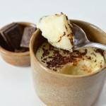zoom sur la Texture de la crème dessert à la semoule - © Crookies
