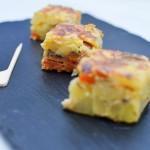 Tortilla espagnole chorizo/poivron/champignon - © Crookies