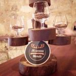 Arbre de dégustation de bières du Nouveau Monde rempli de houblon et de malt pour l'occasion - Photo © Crookies