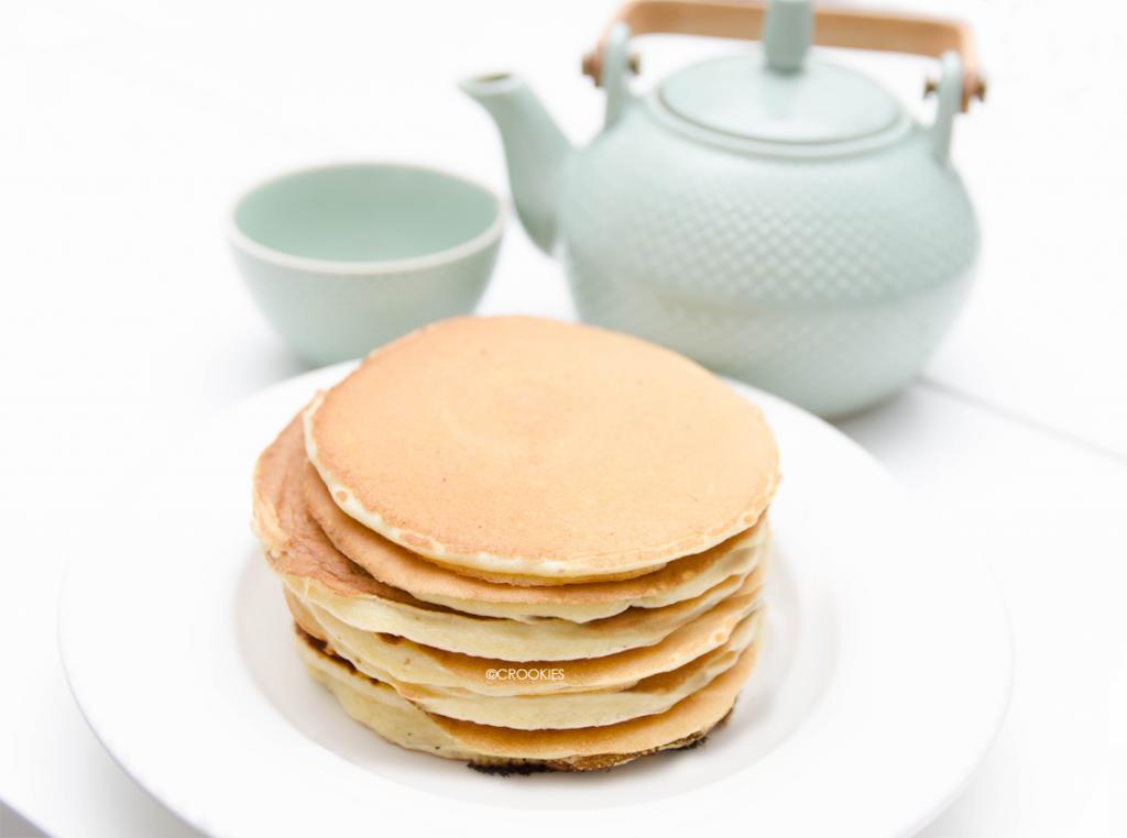 Authentiques pancakes américains - Photo © Crookies