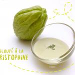 Velouté exotique de Christophine (ou chayotte) au lait de coco - Photo © Crookies