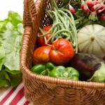 (demi) panier de légumes de l'AMAP de St Genès à Bordeaux (saison : octobre) - Photo © Crookies