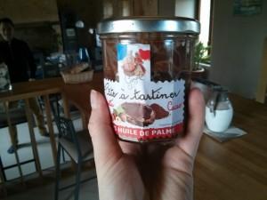 Pâte à tartiner Georgelin sans huile de palme