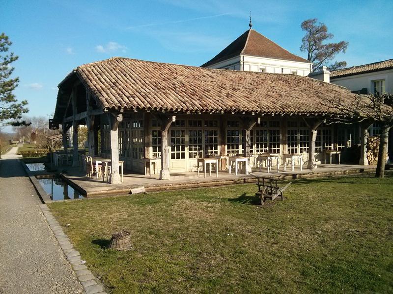 L'ancien lavoir où prend place le restaurant bistronomique des Sources de Caudalie - Photo © Crookies