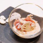 Photo de l'assiette de crème de chou-fleur